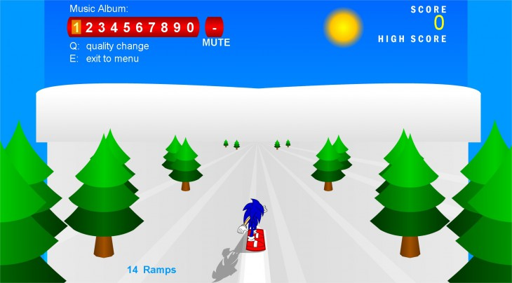 Score Du jeu Sonic Snowboard