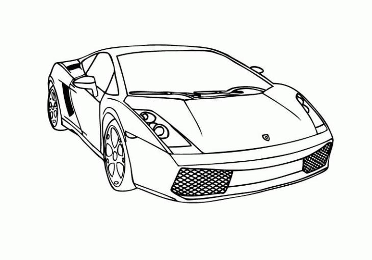 Coloriage Lamborghini