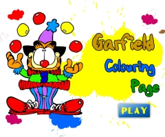 coloriage Garfield