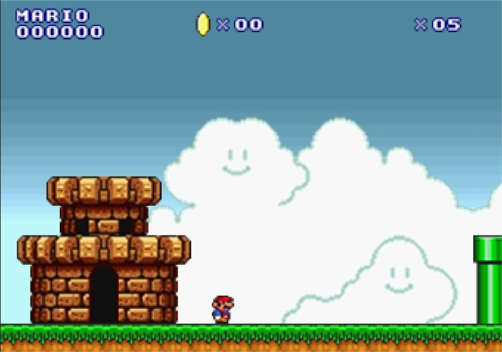 Super Mario land en ligne