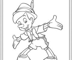 Pinocchio coloriage