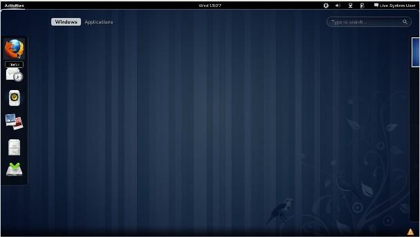 Applications Fedora 15