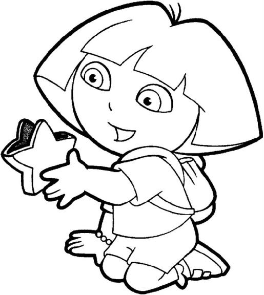 Dora Exploratrice avec une étoile