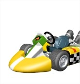Coloriage Mario Kart Avec Bowser Gratuit à Imprimer Et à