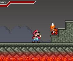 Mario combat yoshi