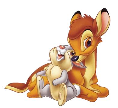 Bambi et lapin
