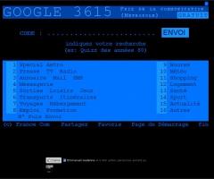 Google 3615 Minitel