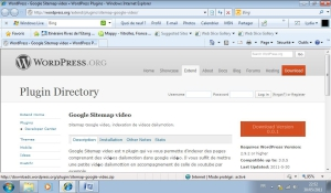 Google Sitemap video