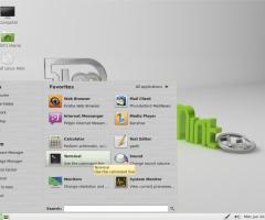 Le terminal sous Linux mint 11