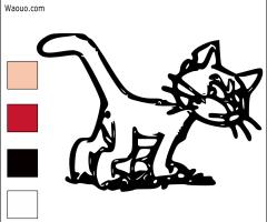 Coloriage Azrael