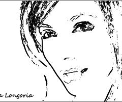 Coloriage Eva Longoria