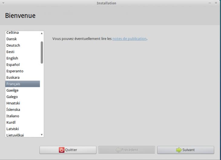 Installation Francais Xubuntu 11.04