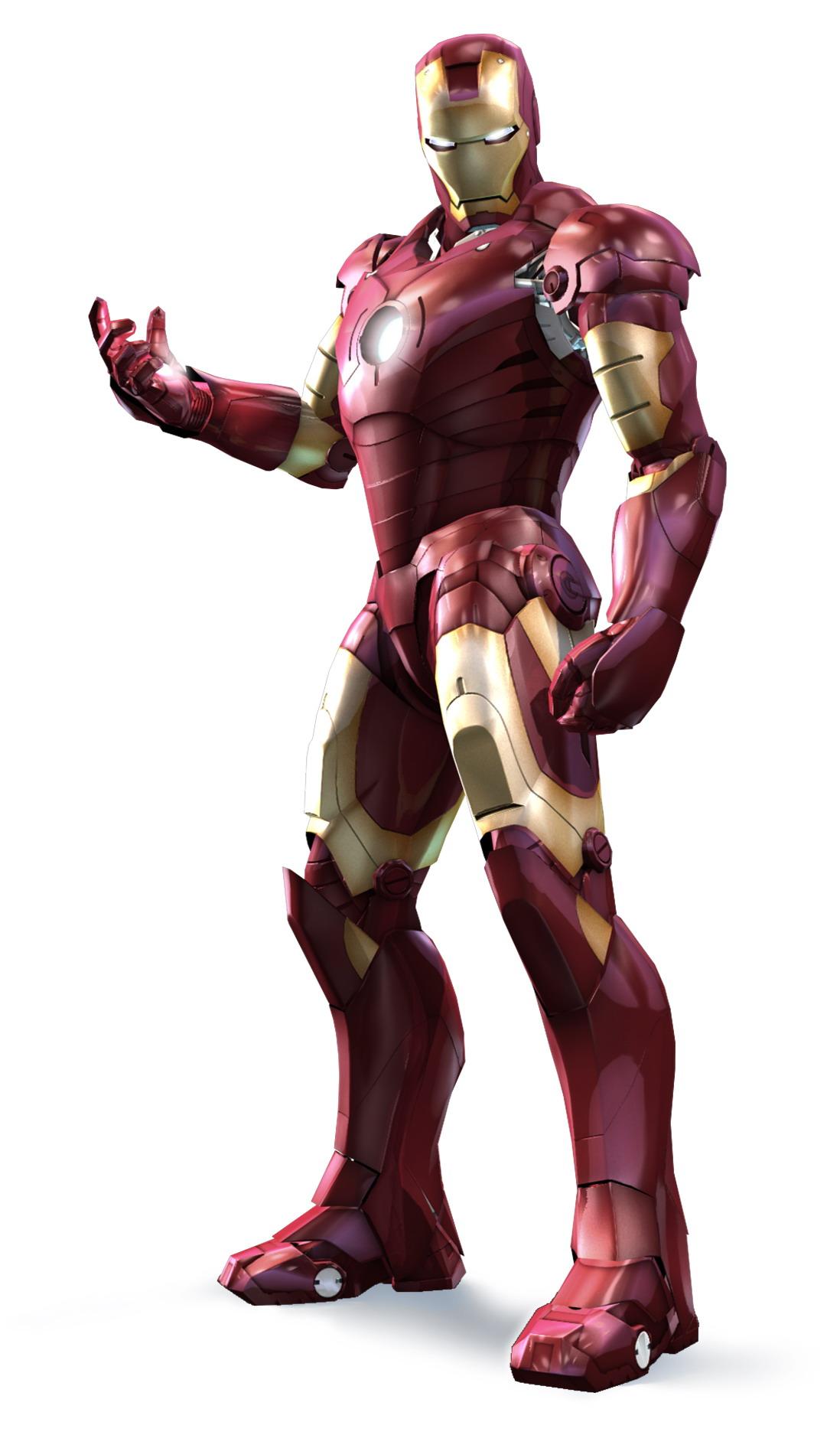 Coloriage De Iron Man A Imprimer Et Colorier
