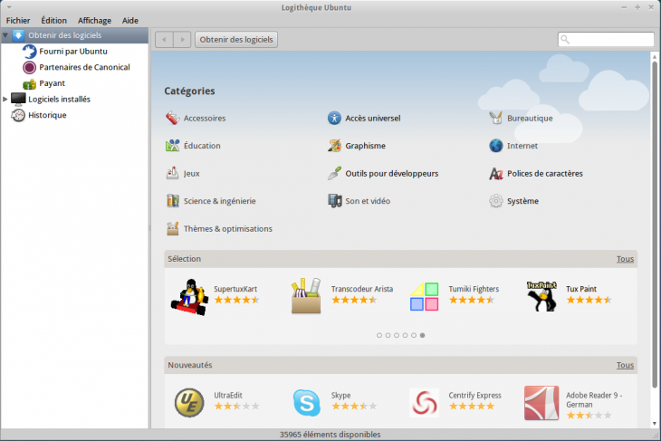 Logitheque Xubuntu 11.04