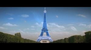 Les Schtroumpfs Tour Eiffel