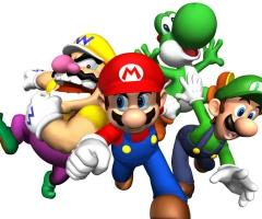 Super Mario Luigi Wario Yoshi