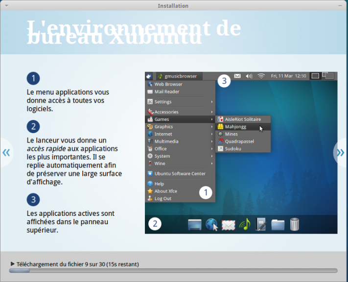 Xfce Ubuntu 11.04
