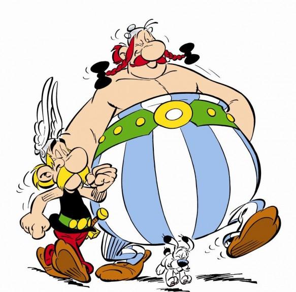 Coloriage De Obelix Et Idefix à Imprimer Et à Colorier