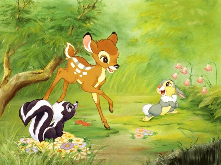 Bambi Faon ou Cerf