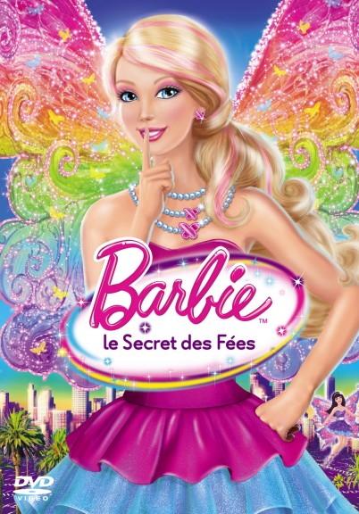 Barbie avec une robe dans le film le secret des fées