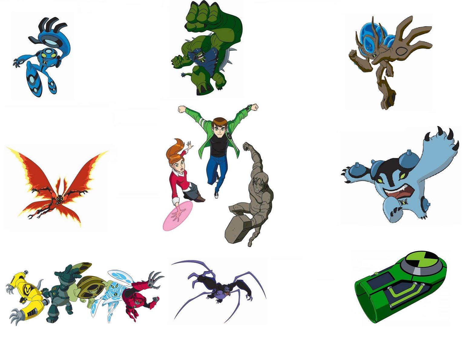 Coloriage Ben 10 Ultimate Alien Gratuit A Imprimer Et Colorier