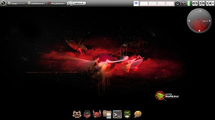 Bodhi Linux Enlightenment 17