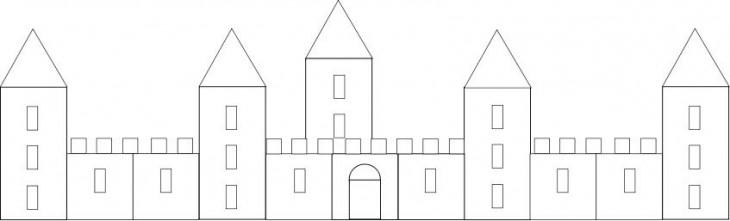 Chateau sans couleur