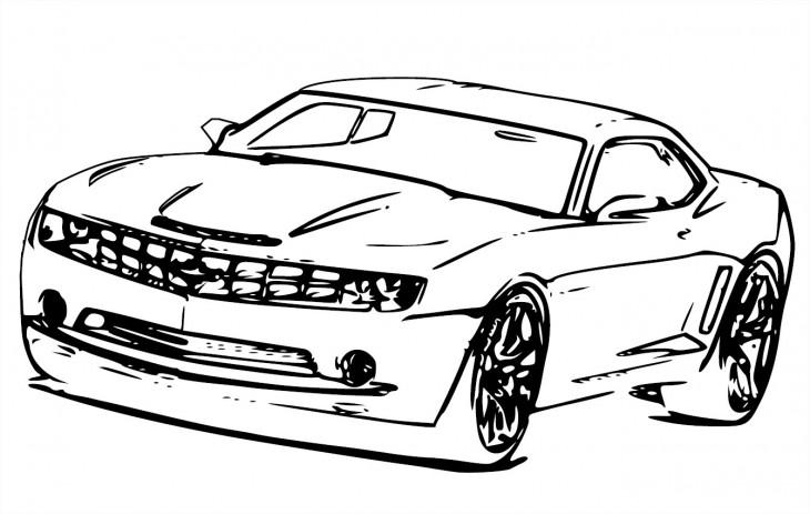 Voiture chevrolet camaro modifier dessin a imprimer - Cars coloriage voitures ...