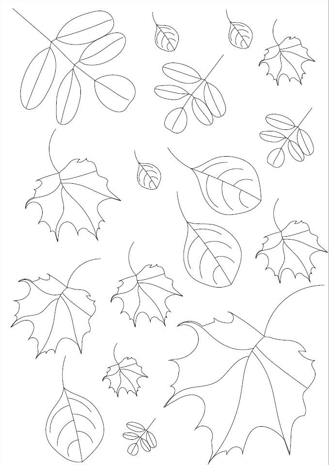 Coriage feuilles d'automne