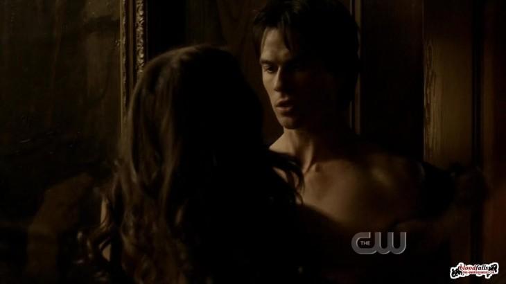 Damon et katherine scene hot