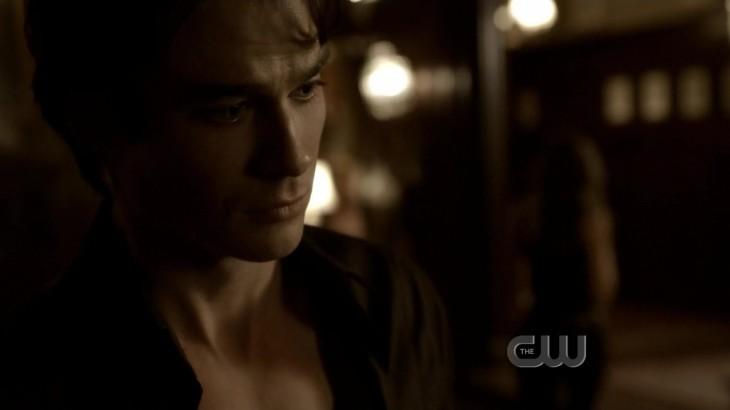 Damon triste vampire diaries