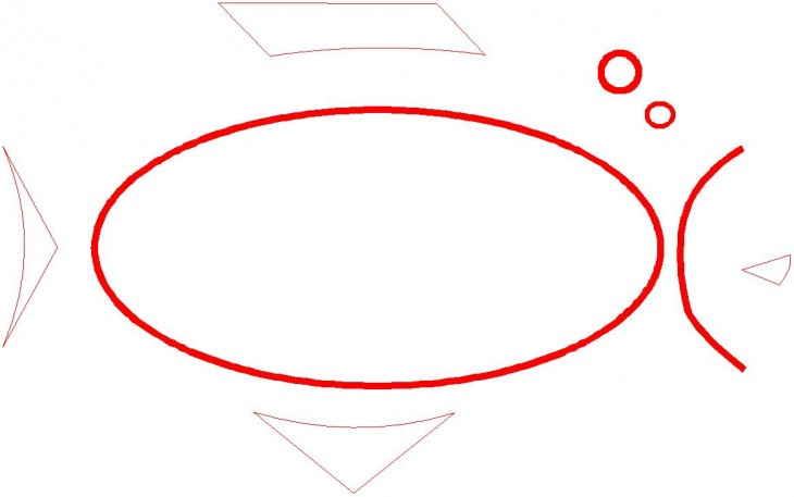 Dessiner ovale