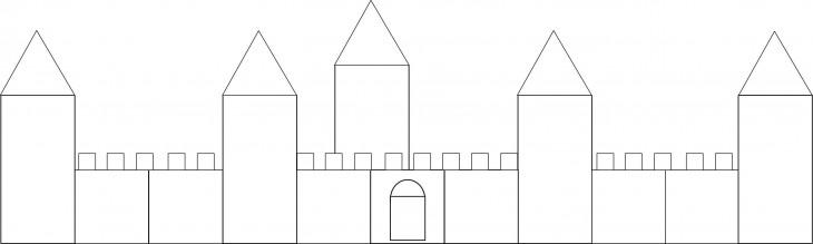 Dessiner tour du chateau