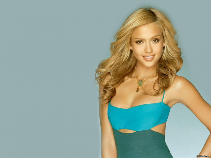 Jessica Alba Wallpaper en blonde