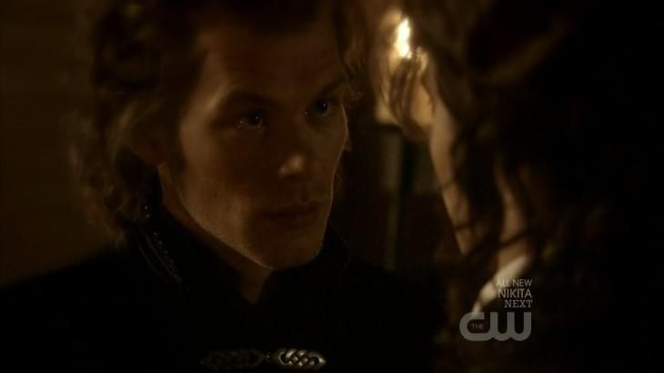 Klaus à l'epoque de la rencontre avec Katherine