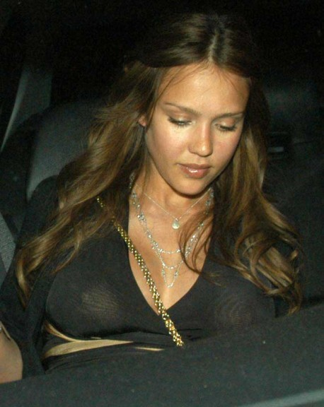 Photo Jessica Alba sans maquillage