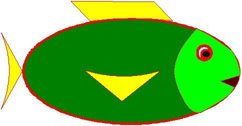 Poisson d'avril vert
