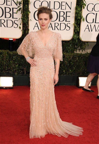Scarlett Johansson Golden Globes 2011