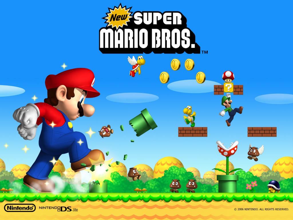 Coloriage Du Jeu Video Super Mario Bros A Imprimer Et A Colorier