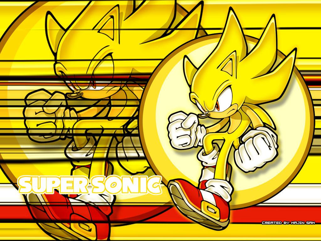 Coloriage Gratuit Sonic.Sonic Coloriage Gratuit De Super Sonic A Imprimer Et A