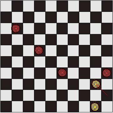 Tactique jeu de dames