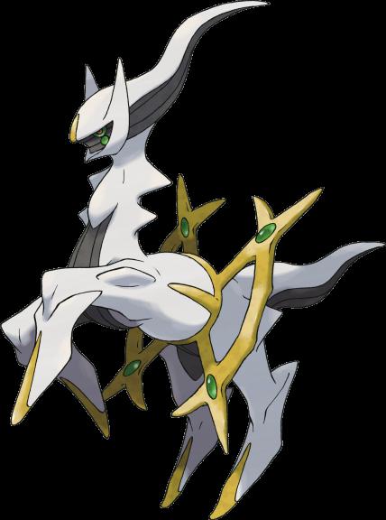 Arceus Pokemon légendaire