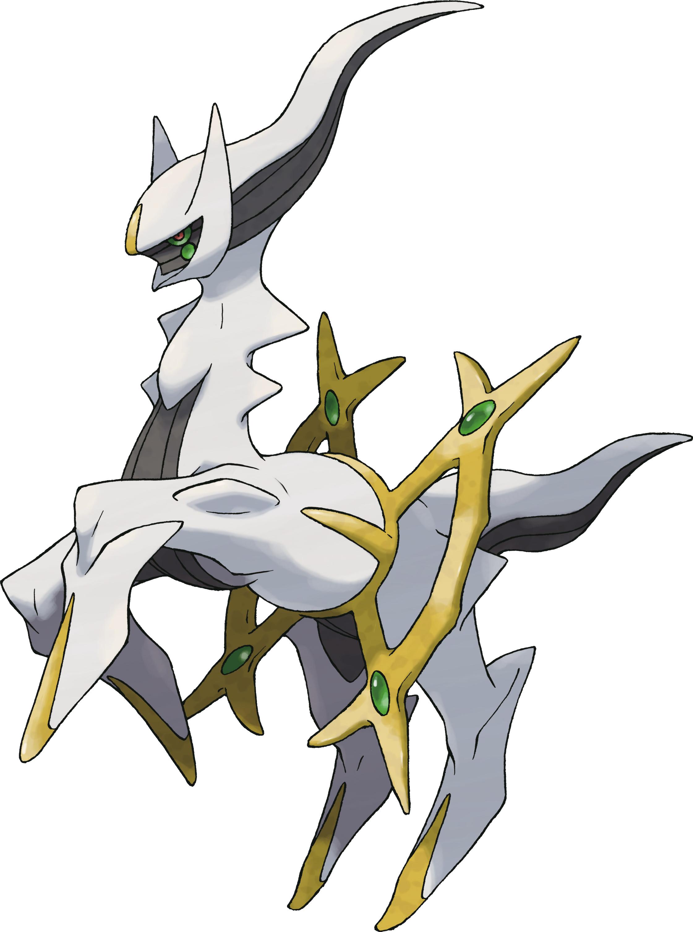 Arceus  Coloriage Pokemon légendaire Arceus à imprimer et colorier