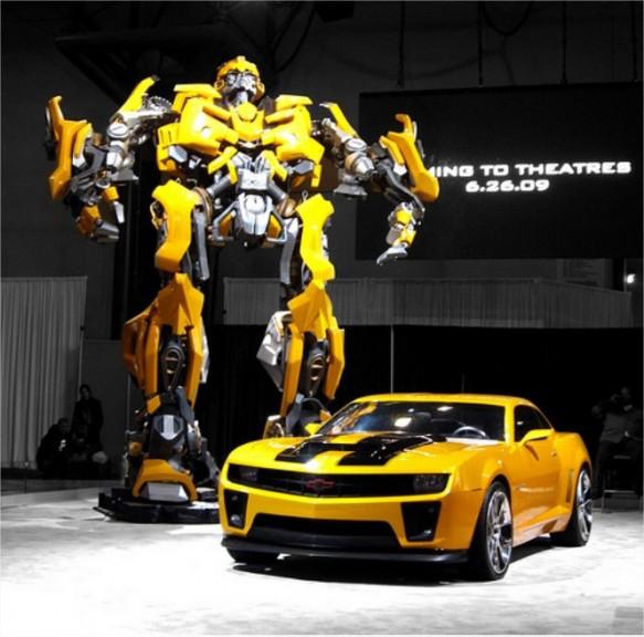 Coloriage bumblebee transformers chevrolet camaro imprimer - Transformers bumblebee car wallpaper ...
