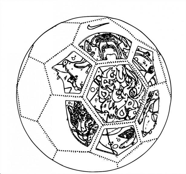 Coloriage ballon du brésil