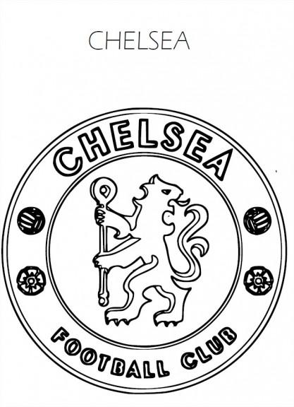 Coloriage Chelsea FC