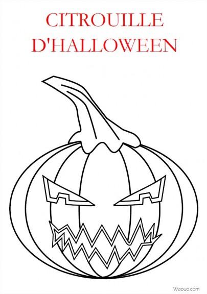 Coloriage citrouille m chante halloween imprimer gratuit - Citrouille d halloween a imprimer ...