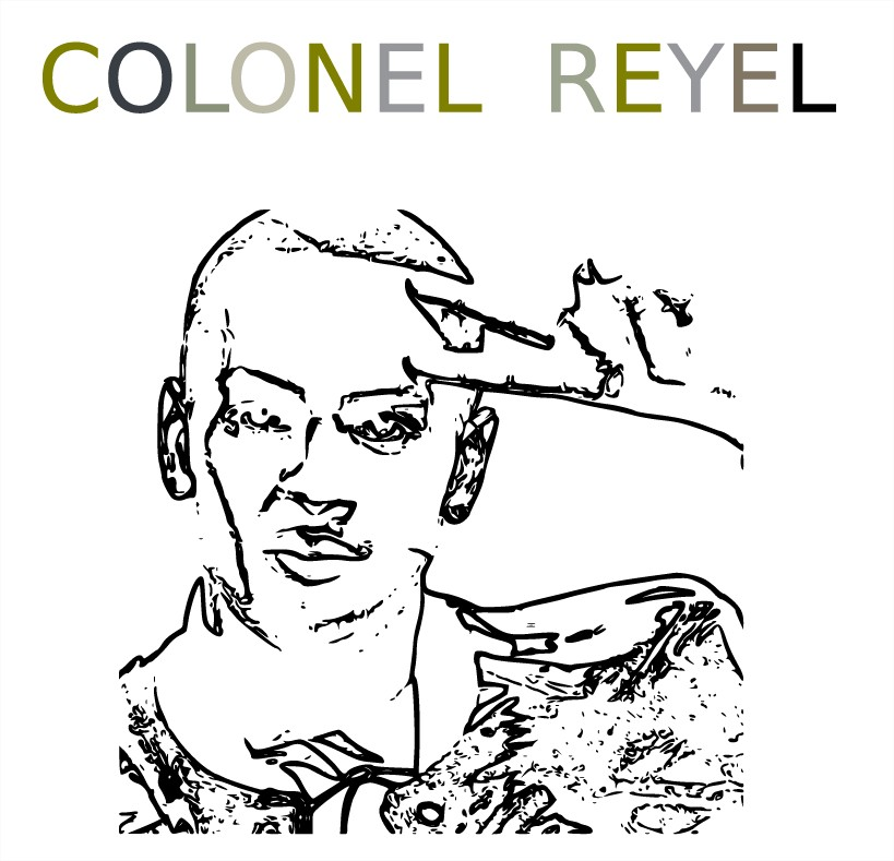 Coloriage Colonel Reyel