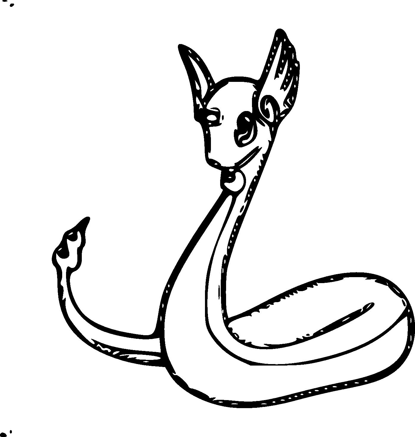 Coloriage Draco