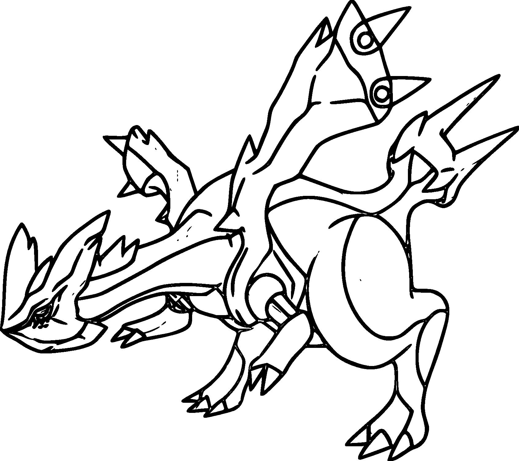 Coloriage Kyurem